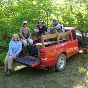 Staff on Chambers Island- Summer 2015
