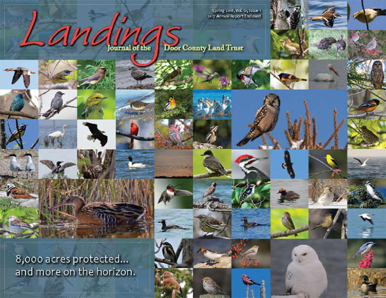 Spring 2018 Landings, Journal of the Door County Land Trust