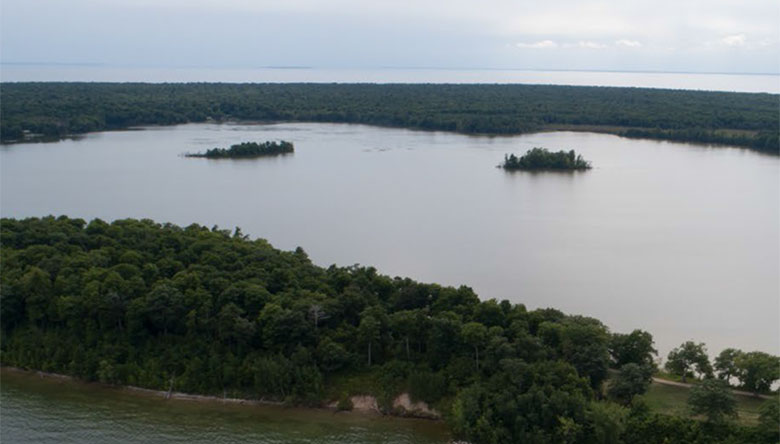 Lake Mackaysee Islands