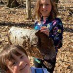 Sande Soloman and kids on trail.jpeg